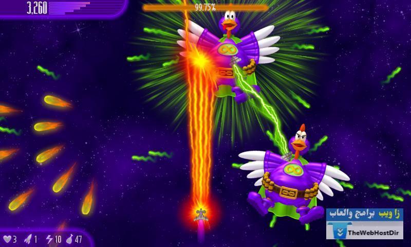 تحميل لعبة Chicken invaders 4 للاندرويد